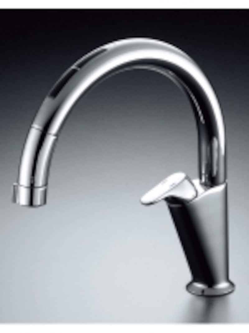 センサーに手をかざすだけで吐水・止水が可能。おいしい水がたっぷり使えるビルトイン型。カートリッジの交換時期が一目でわかるお知らせ機能付。[タッチレス水栓ナビッシュA6タイプ・浄水器ビルトイン型]undefinedLIXILundefinedhttp://www.lixil.co.jp/