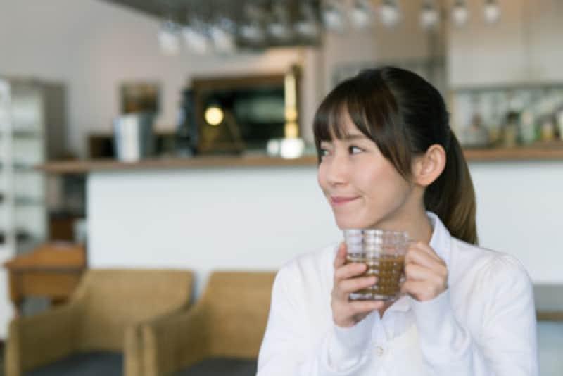 コーヒーは食後の気分転換、リラックスなどにも役立ちます。
