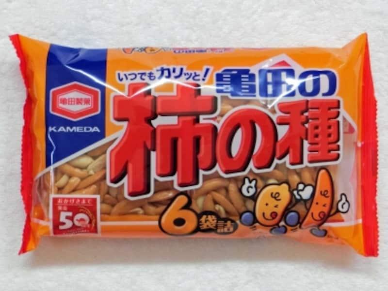 「やめられないお菓子ランキング2016」10位:亀田製菓柿の種