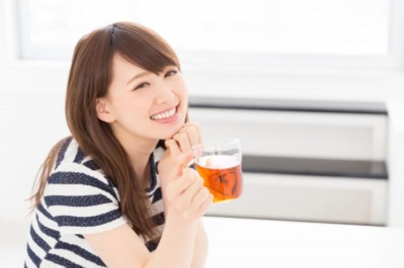美人は冷たい飲み物を飲まない?