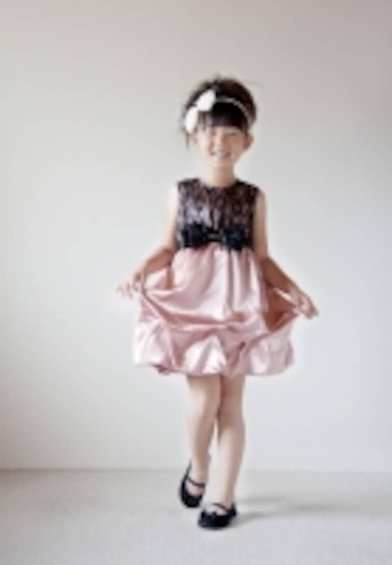 ドレス女の子写真