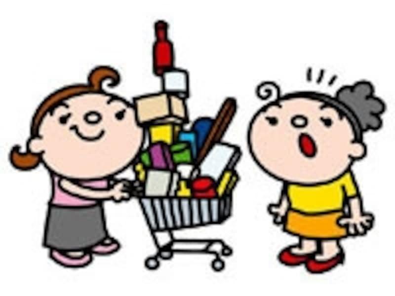上手な買い物は、安い物をたくさん買い込むことではありません