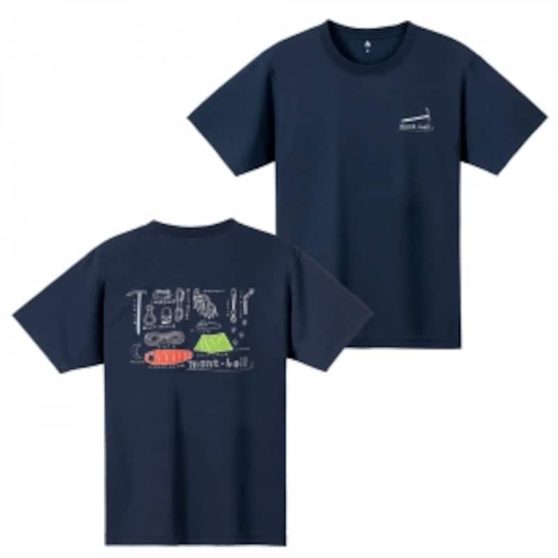 機能素材ウイックロンを採用したTシャツ