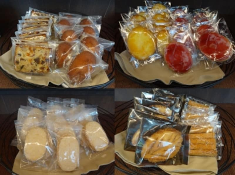 「ラ・プレシューズ」の各種焼き菓子(1個各税別180円~260円)