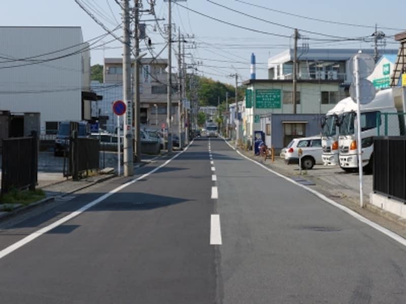 工業地域の町並み