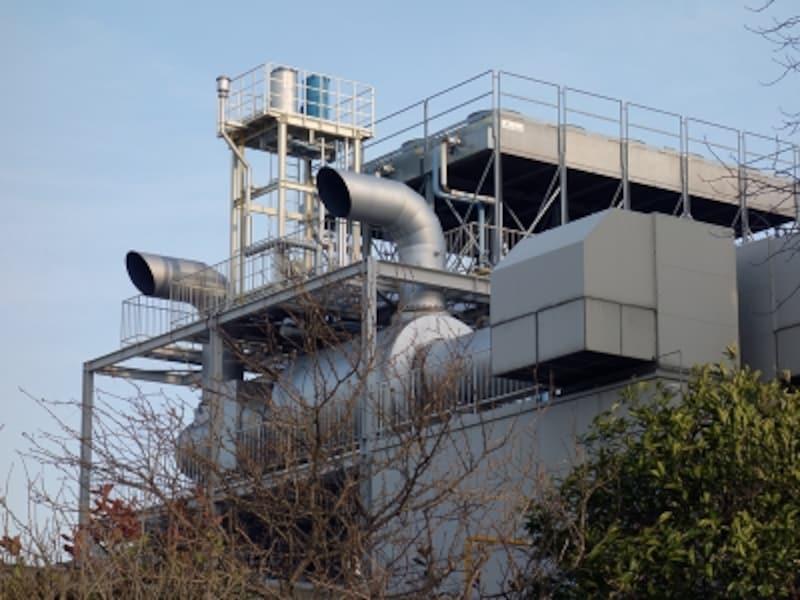 工業専用地域の工場