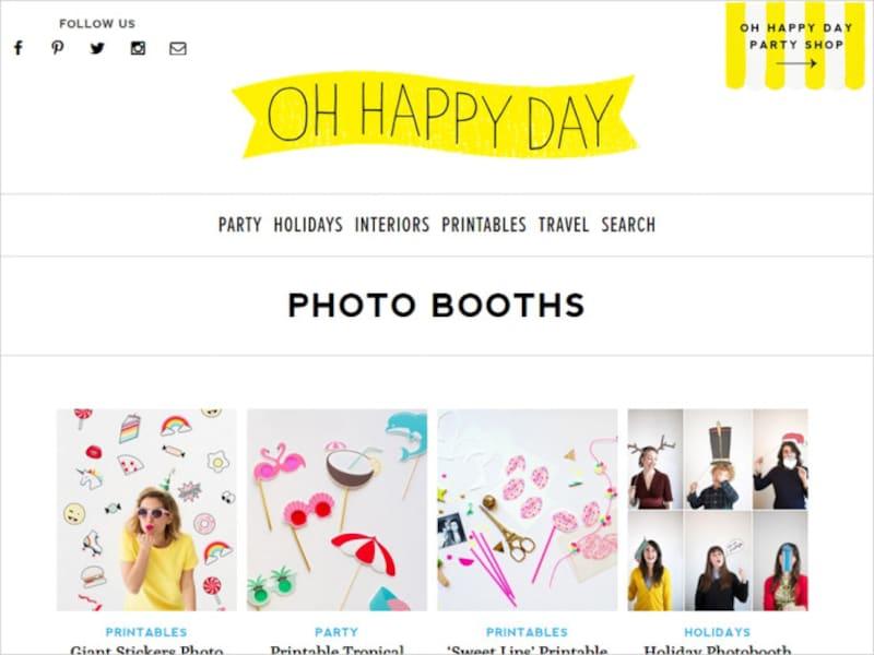 フォトプロップス素材無料で手作り&作り方OHHAPPYDAY-photobooths-