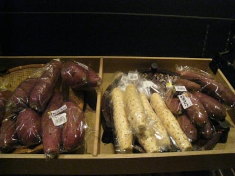滋味あふれる小江戸野菜が並びます。