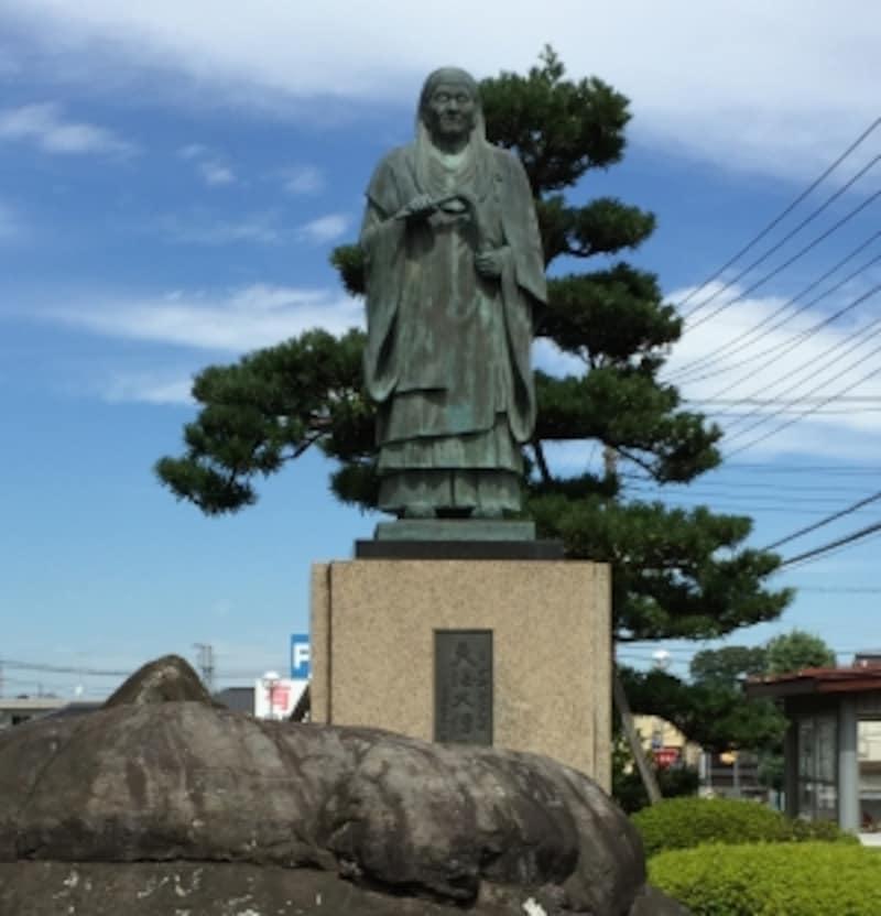 喜多院第27世住職の天海大僧正の像。