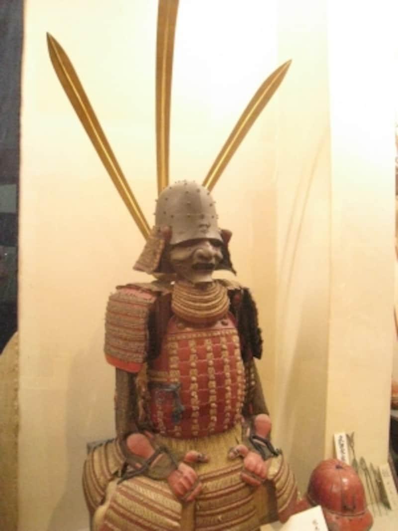武具も豊富に展示している「川越歴史博物館」