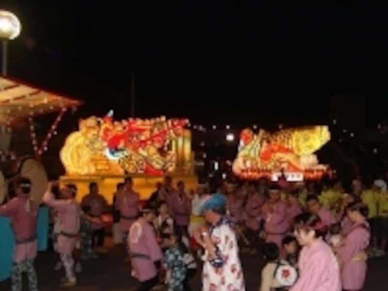 観光客も地元民も、参加型で一緒に楽しめる浅虫ねぶた祭り