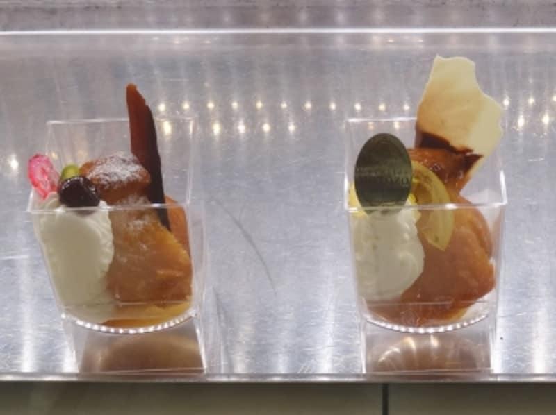 「ラトリエモトゾー」の「ババアルラム」(写真左)と「ババアルリモンチェッロ」(写真右)(税別各420円)