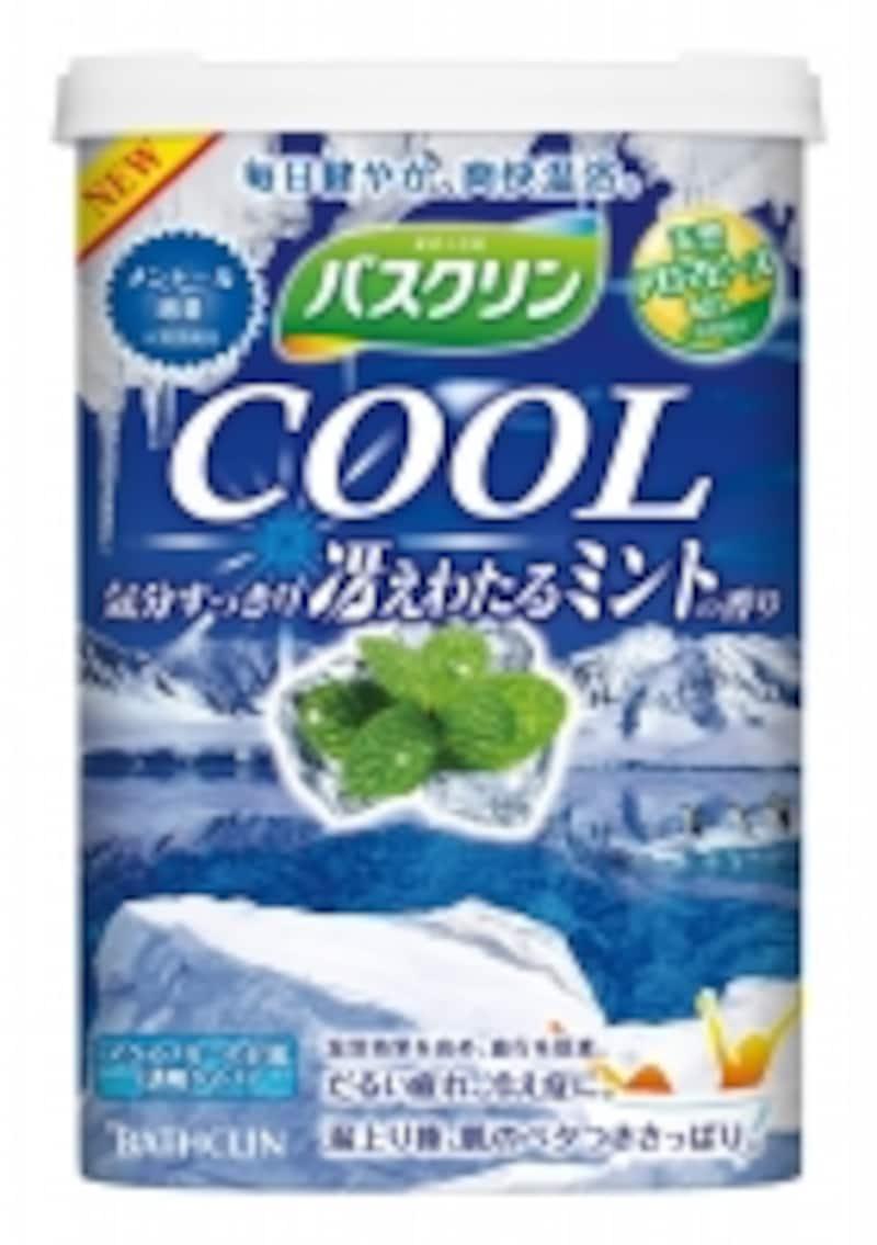 涼感入浴剤