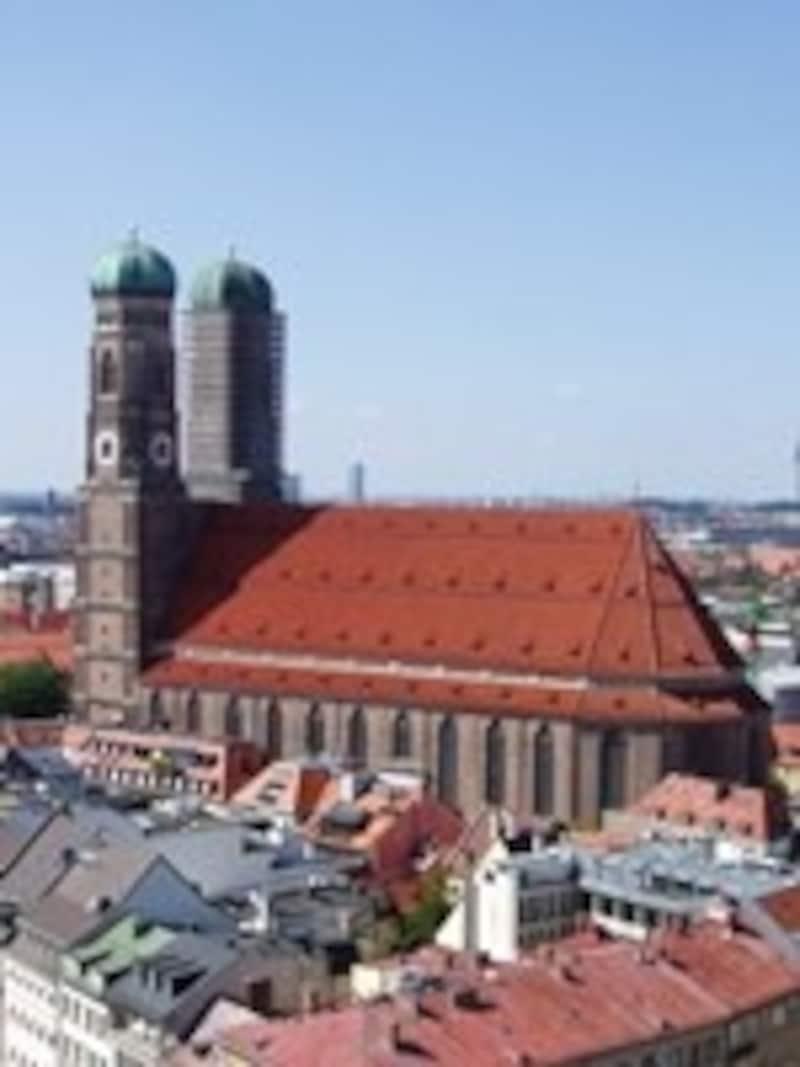 ミュンヘンのシンボル、フラウエン教会