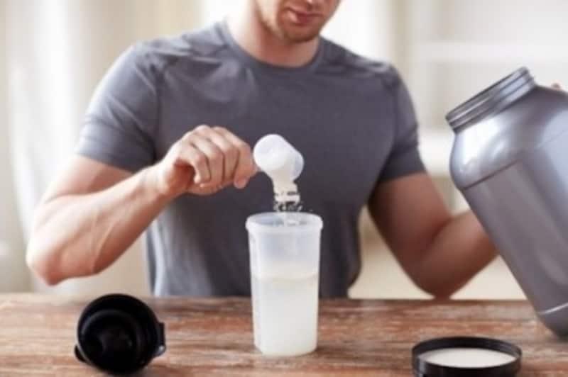 筋肉合成を助けるプロテイン