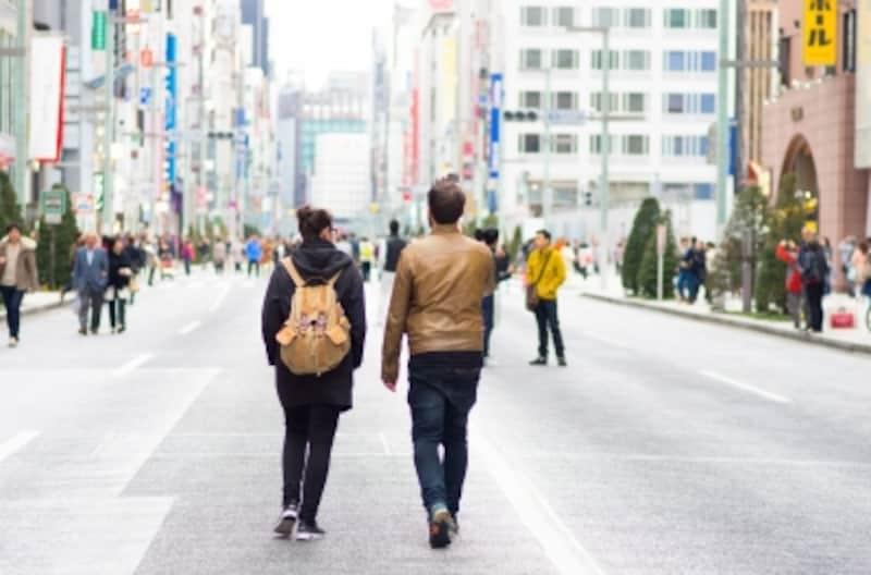 インバウンドが街歩きを楽しむ様子はもう当たり前