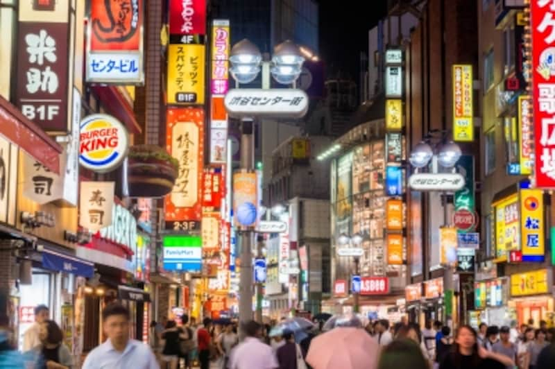 ロシアの旅行者は日本での街歩きを楽しみに