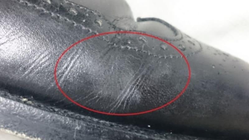 銀浮き&塩浮きが出た時・雨天後の革靴の手入れ&修理方法