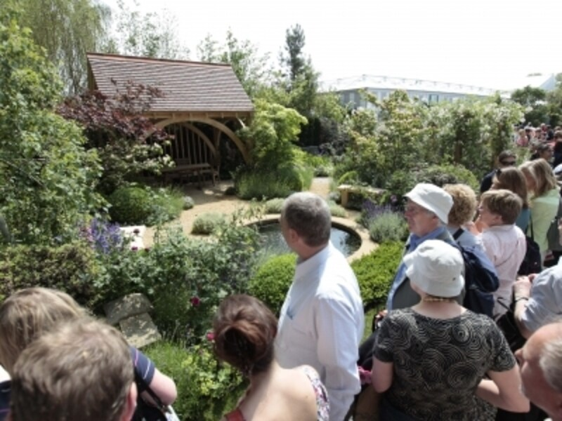 春の大人気イベント、チェルシー・フラワー・ショー。ガーデニング大国、イギリスらしいイベントですねundefined©RHS