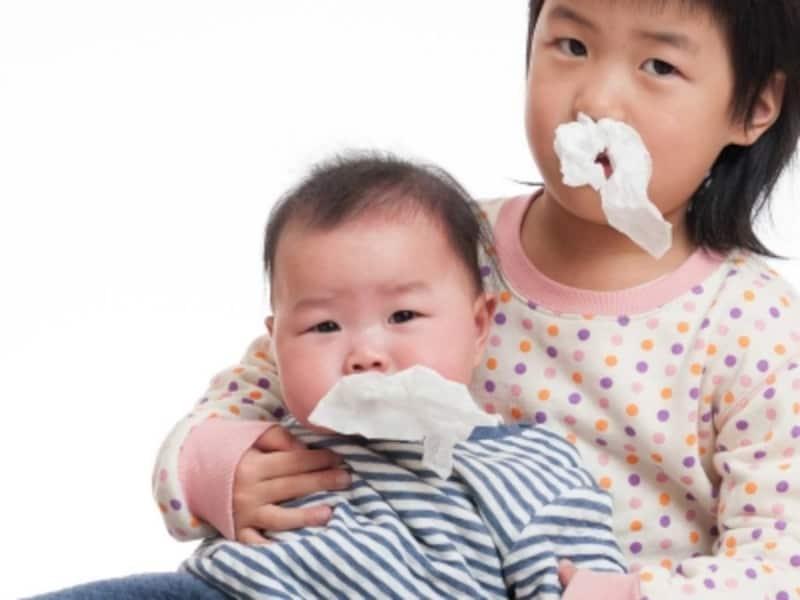 季節に関わらず、一年中鼻水のトラブルはおきる