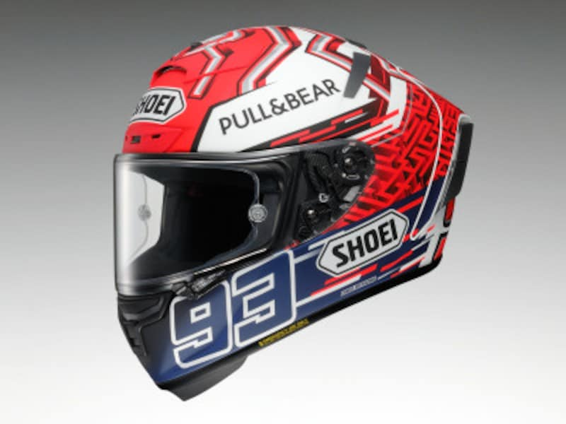 レースを快適に走るためのヘルメットX-FOURTEEN