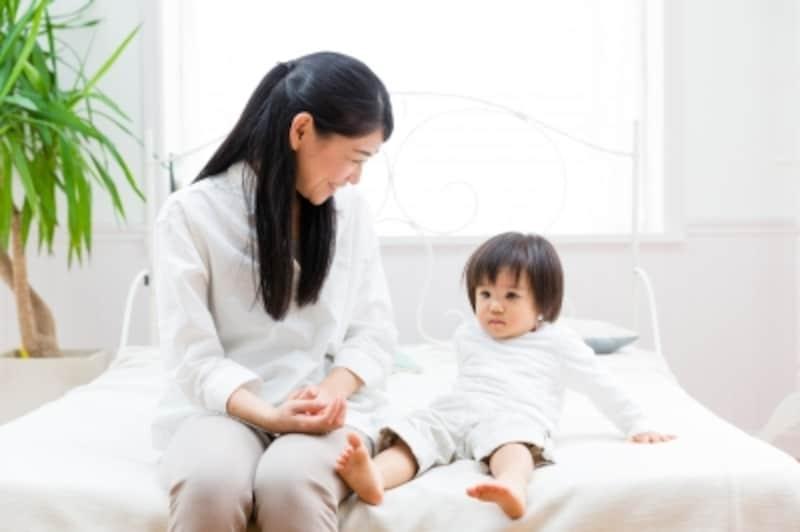 子どもは子ども部屋で寝かせて、役割を切り替えること。