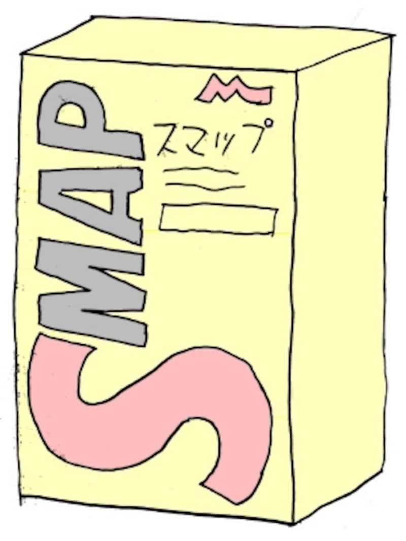 森永乳業『SMAP』イメージ