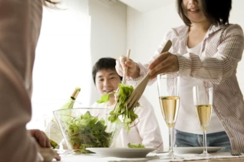 料理のとりわけなどの際に、なんだかバタバタ見えるのは脇のせい??