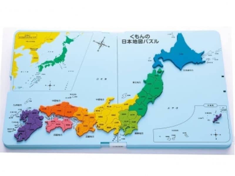 くもん出版/くもんの日本地図パズル(3024円)