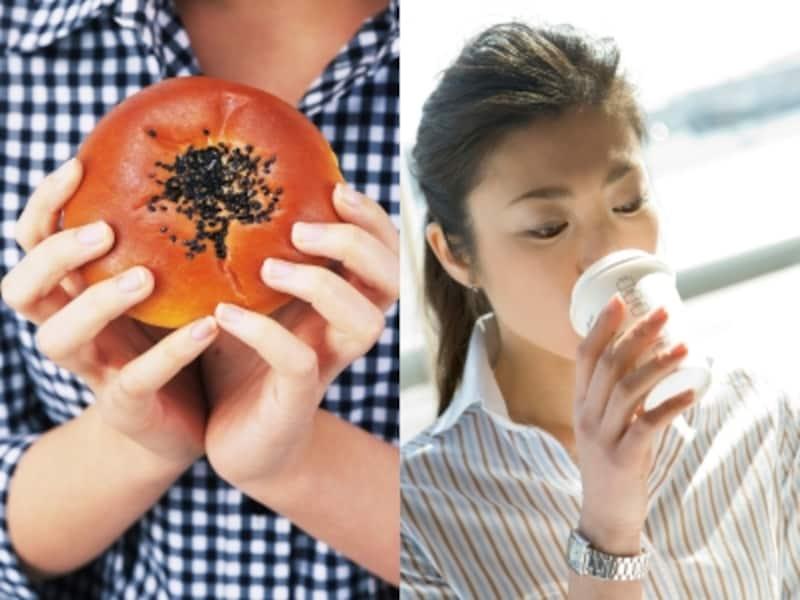 朝ご飯はコーヒーだけ。それとも、甘いもの?