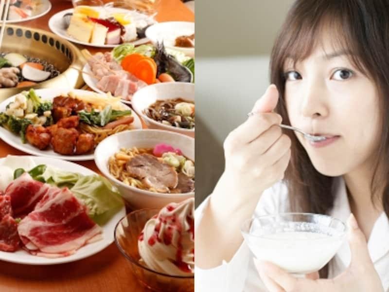 1日1食ならいくら食べてもいい?でも、モデルは1日5食も食べるらしい!?undefinedいったいどういう原理?