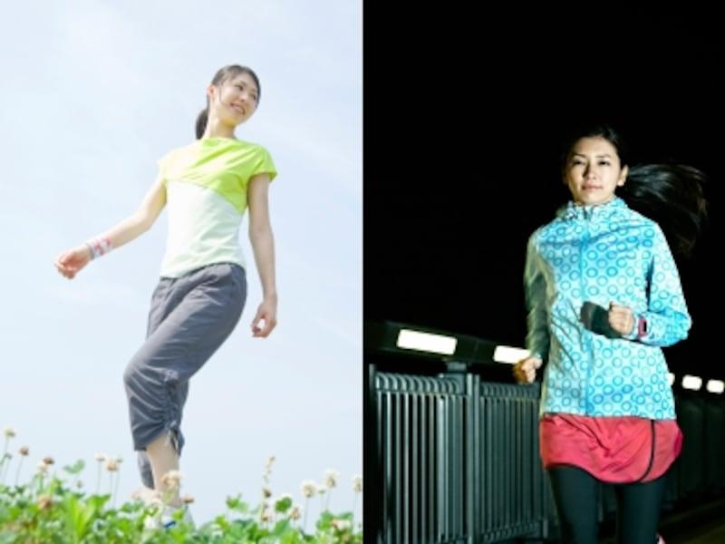 朝と夜、運動するなら……?