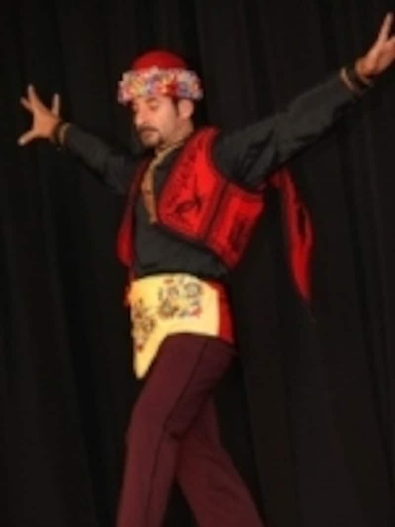 来日経験もある、ベテランの現役ダンサー