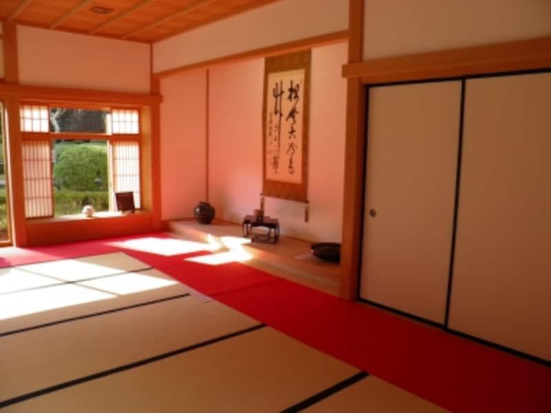 長寿寺のお堂の中