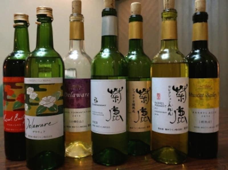 熊本ワインのボトル大集合!