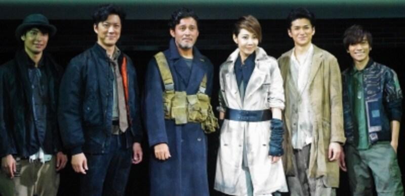 『ミュージカルundefinedバイオハザード』製作発表記者会見にて。(C)MarinoMatsushima