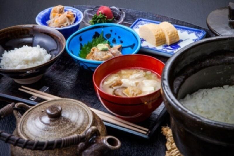 「くろぎのお茶漬け・1,188円」限定20食(要予約)