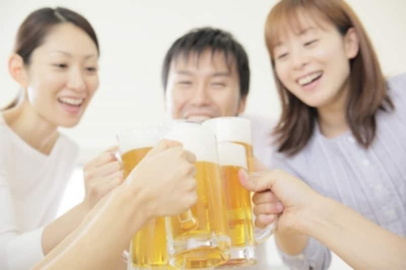お酒を飲むなら楽しく飲みましょう!
