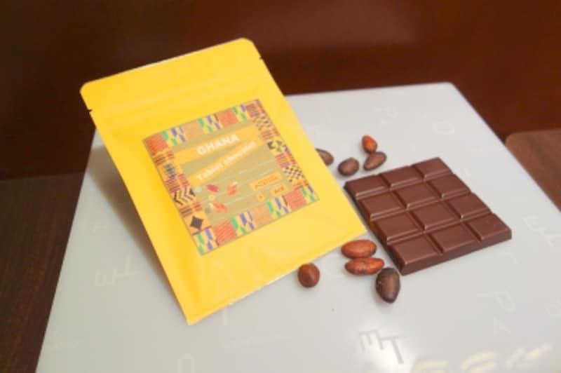 完成したチョコレート