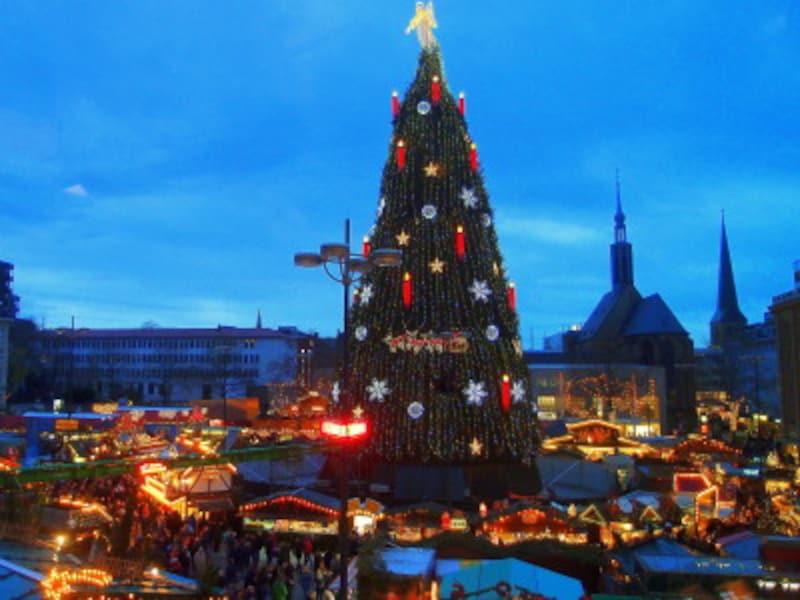 ドルトムントのクリスマスマーケットの観光情報をお伝えします