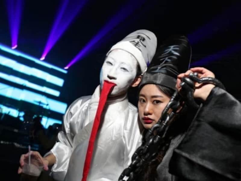 チャイナなお化けも登場!中洋折衷なハロウィン参加者@YENFetish?HalloweenParty(C)O2culture(凹凸文化)