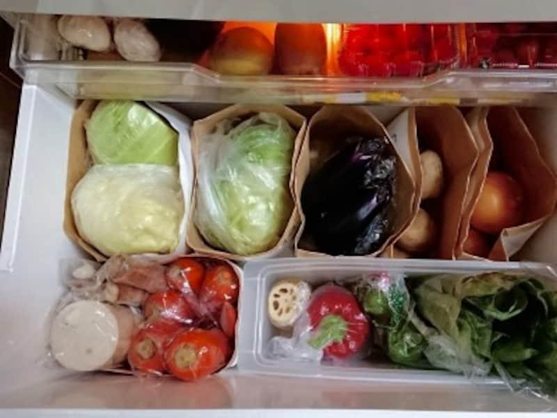 冷蔵庫の中も見やすく整理しよう!
