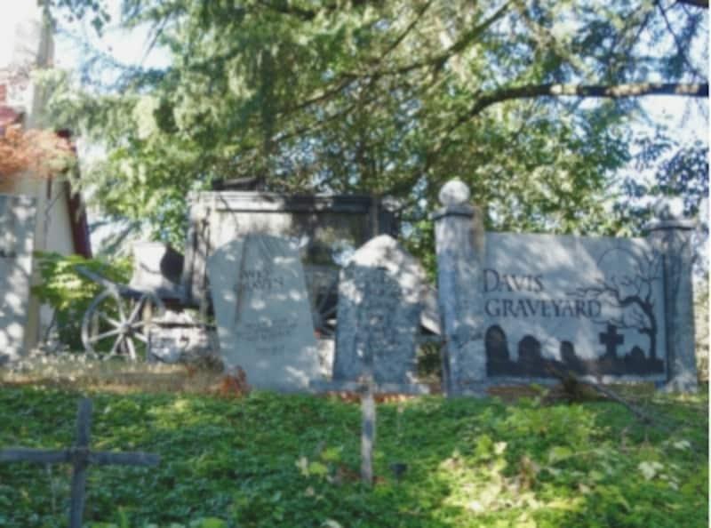 デイビス夫妻の「墓場」