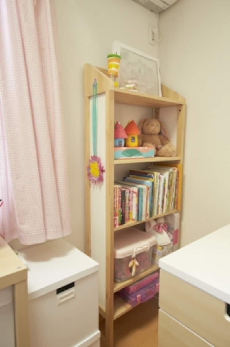 子ども部屋の見せる収納
