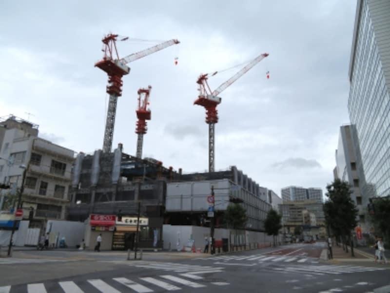 田町の再開発
