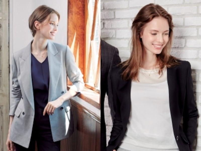 ぴちぴちのスーツよりもジャストサイズが今の流れundefined画像提供:HANABISHI