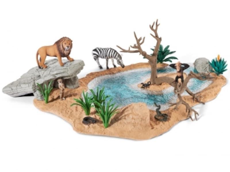 シュライヒ/動物達の水飲み場セット(15984円)