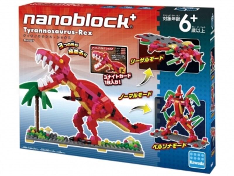 カワダ/ナノブロックプラスティラノサウルス・レックス(4104円)