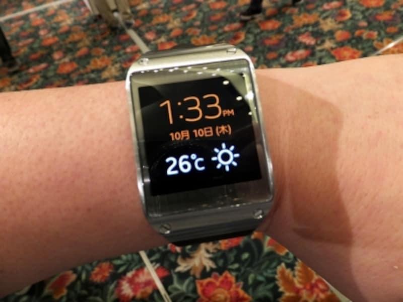 腕時計型ツールGALAXYGear