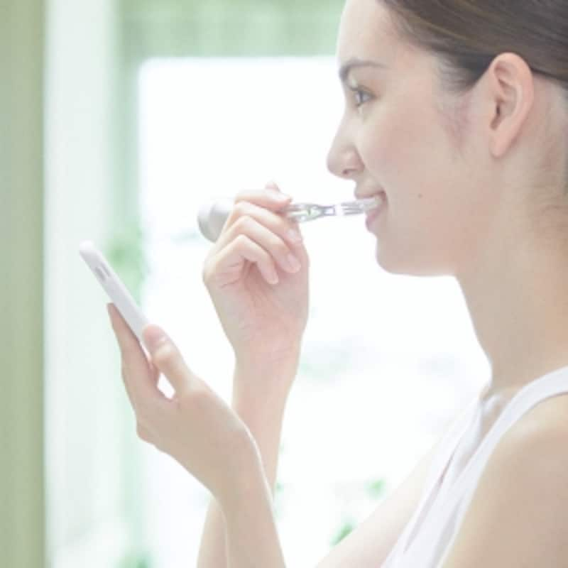 歯磨きの質もアップします